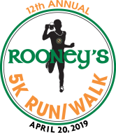 12th Annual Rooney's 5K Run/Walk