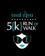 Teal Diva 5k for Ovarian & Other Gynecologic Cancers Charlotte, NC