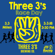 Three 3's Race Day