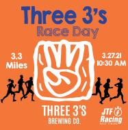 Three 3's Race Day