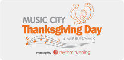 Music City Thanksgiving Day 4 Mile
