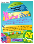Bunny Run 5k - Harmon House Care Center