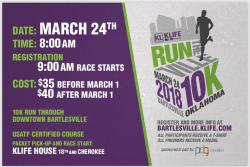 Klife 10k Run the Ville