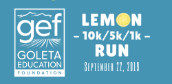 Lemon Run 2019 presented by the Goleta Education Foundation