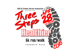 Three Steps Healthier 5K run/walk