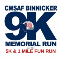 CMSAF James C Binnicker Memorial 9K, 5K, 1-Mile Fun Run and Race at Your Base Series