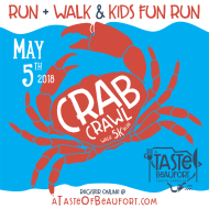 2018 Beaufort Crab Crawl 5K