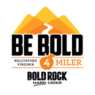 BE BOLD 4 Miler at Bold Rock Cidery