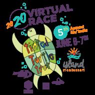 Island Montessori Tinted Turtle Trot- VIRTUAL EDITION!