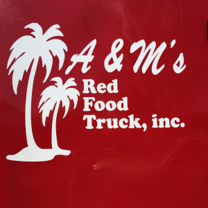 A&M's Red Food Truck