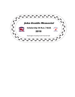 John Gentile Memorial Scholarship 5K Run/Walk