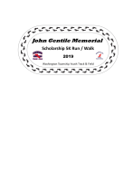 John Gentile Memorial Scholarship 5K Run/Walk