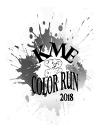 Kings Manor Elementary Color Run 2018