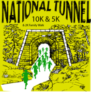 National Tunnel 10K and 5K and 2K family fun walk