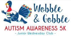 Wobble and Gobble Autism Awareness 5K-Virtual