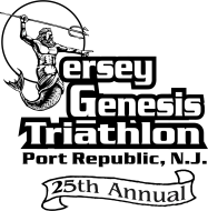 25th Anniversary Jersey Genesis Triathlon/Duathlon/Aqua Bike *#