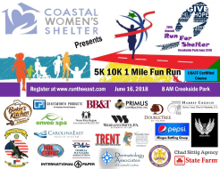 20th Annual Run For Shelter