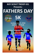 Ridgefield Troop 431 Father's Day 5K