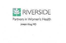 Riverside Medical Group, PWC Dr. Joseph King