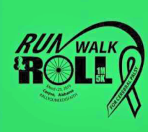 5th Annual Go Green for Cerebral Palsy 10k, 5k and 1 mile Fun Run, Walk, or Roll with Virtual 10k Option