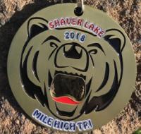 """Shaver Lake """"Mile High"""" Triathlon, Duathlon, 5k & 10k"""