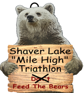 "Shaver Lake ""Mile High"" Triathlon, 5k & 10k"