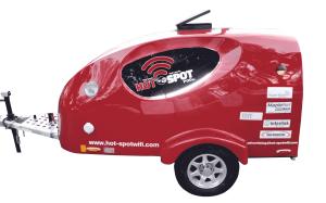 Hot Spot Wi-Fi Pods