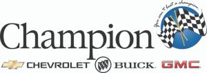 Champion Chevrolet Buick GMC