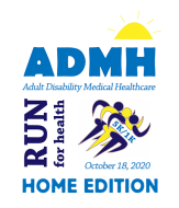ADMH RUN FOR HEALTH - HOME EDITION