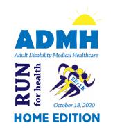 ADMH RUN FOR HEALTH - HOME EDITION