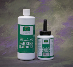 Water Mill Products, Birdsall's Farrier Barrier