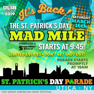 St. Patrick's Day Mad Mile