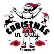 Fort Knox Christmas in July 5K/10K