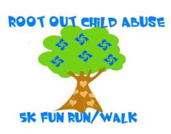 2018 ROOT OUT CHILD ABUSE 5K &        1 MILE KIDS FUN RUN