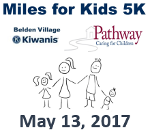 Kiwanis Miles for Kids 5K and Free Kids Fun Run