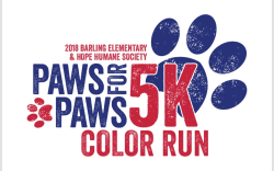 Paws for Paws 5K Color Run