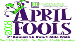 The Health Alliance of Clinton County Third Annual 5k Run and 1 Mile Walk