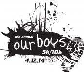 our boys 5K  & 10K Races