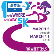 Any WHERE Any WAY Virtual 5K Run/Walk