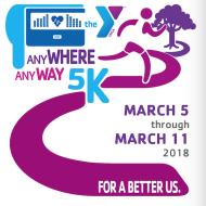 Any WHERE Any WAY Virtual 5K Run/Walk