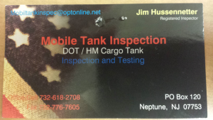 Mobile Tank Inspection
