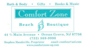 Ocean Grove Emporium/Comfort Zone
