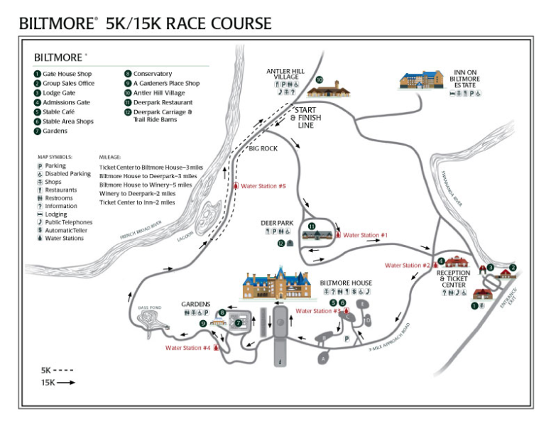 Biltmore-Kiwanis 5K/15K Clic: Clic Course Map on vanderbilt mansion national historic site, oheka castle, biltmore village, frederick law olmsted, north carolina map, mclean hospital map, shelburne farms map, guilford courthouse national military park map, dumbarton oaks map, white house, being there, pisgah national forest, the breakers, the manor, palace of versailles map, vanderbilt family, blue ridge mountains map, biltmore park map, forrest gump, huntington library map, marble house, la place de concorde map, harrah's casino map, blue ridge parkway map, united states map, richie rich, asheville map, blue ridge parkway, richard morris hunt, metropolitan museum of art map, vanderbilt houses, ripley's aquarium of the smokies map, biltmore grounds map, biltmore village map, wolf ridge ski resort map, lake james state park map,