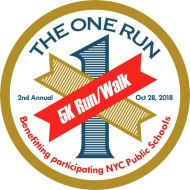 The One Run - 5K to benefit participating NYC public schools