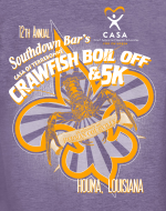 12th ANNUAL CRAWFISH BOIL OFF & 5K