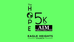 HOPE 5K for AIM CANCELLED