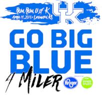 Go Big Blue 4 Miler Presented by Kroger Simple Truth