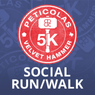 Velvet Hammer 5K Social Run/Walk - April