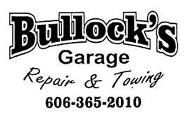 Bullock's Garage Repair & Towing