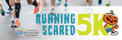 3rd Annual Running Scared 5K Run and 1-Mile Family Fun Walk Sponsored by Nationwide Children's Hospital